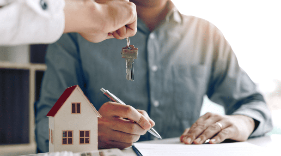 handing them their home keys - home loans blogs