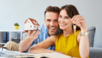 couple with keys to new home - home loans blogs