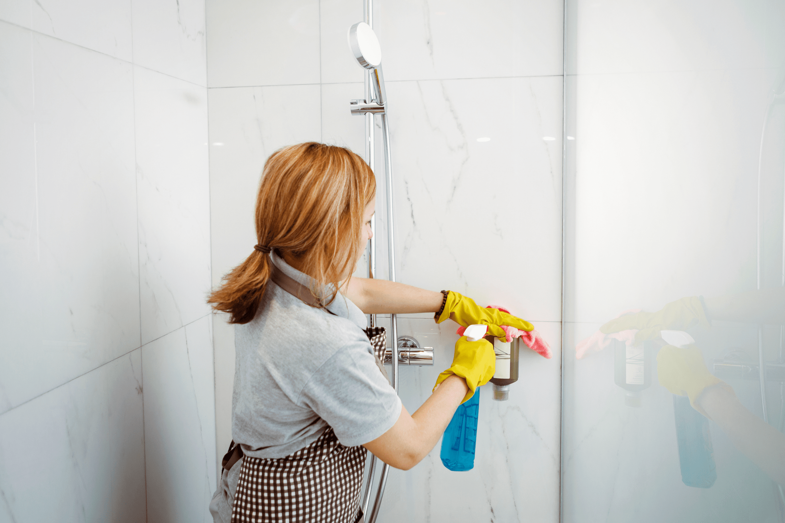 How to Clean your Shower with a Dishwasher Tablet